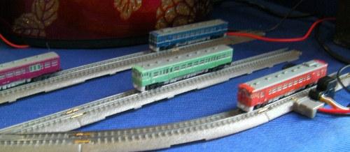 De Japanse Kiha treinen worden voorbereid voor een release in andere kleurstellingen